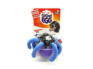 Picture of GIGWI Egg Wobble Toy Spider