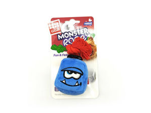Picture of GIGWI Monster Rope Cube Plush (Blue)