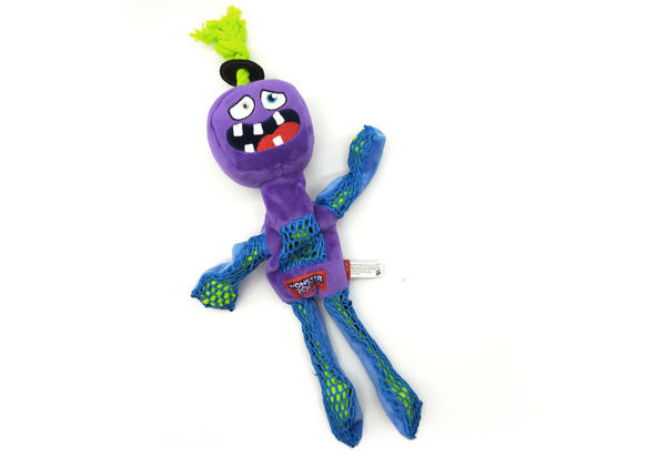 Picture of GIGWI Monster Rope Long Plush (Purple)