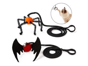 Picture of Halloween Cat Toy Elastic String Plastic Hook