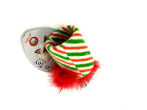 Picture of Holiday Cat Toy with Elastic-anchored Tail