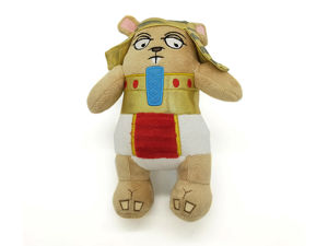 Picture of BARK King Nut Squeaky Plush Squirrel
