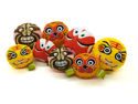 Picture of Dog Toy CNY Squeaky Q-ball Red Peking Opera Mask